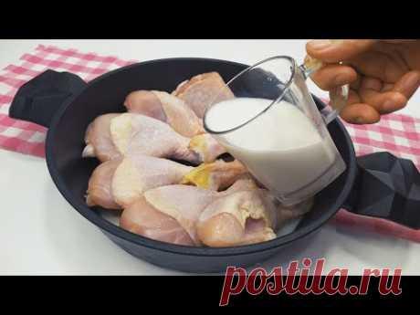 Теперь курицу готовлю только так!