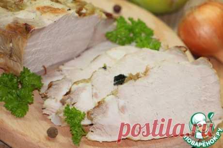 Брассированная свинина на горячее или бутерброд. Брассировать - это значит запекать в небольшом количестве жидкости!..