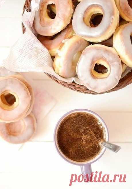 Пончики в глазури — Sloosh – кулинарные рецепты