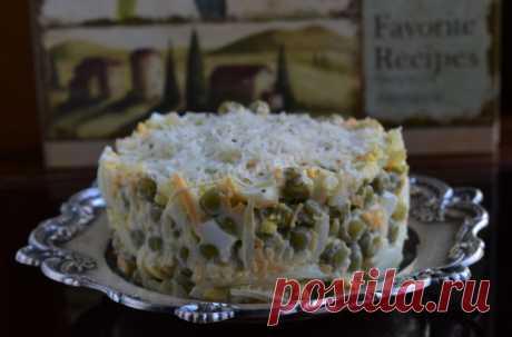 Чайка – незаслуженно забытый салат из советского прошлого   Noteru.com