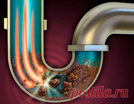 Уникальное высокоэффективное средство, для прочистки канализационных труб, устраняющее любые засоры!