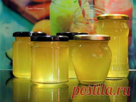 Кулинарные истории. Лимонный джем без варки - быстро, просто и полезно! | Ольга Нощенко | Яндекс Дзен