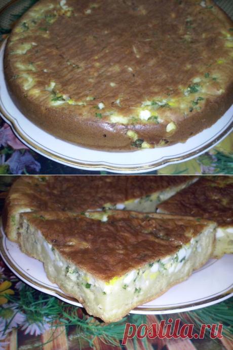 Простой пирог, а в нем - вкусная начинка | Жизнь на кухне | Яндекс Дзен