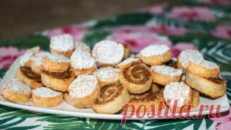 Творожное печенье к чаю - простой и быстрый рецепт