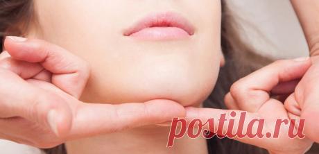 Не забываем про массаж подбородка, чтобы сохранить молодое лицо | Роза Красная | Яндекс Дзен