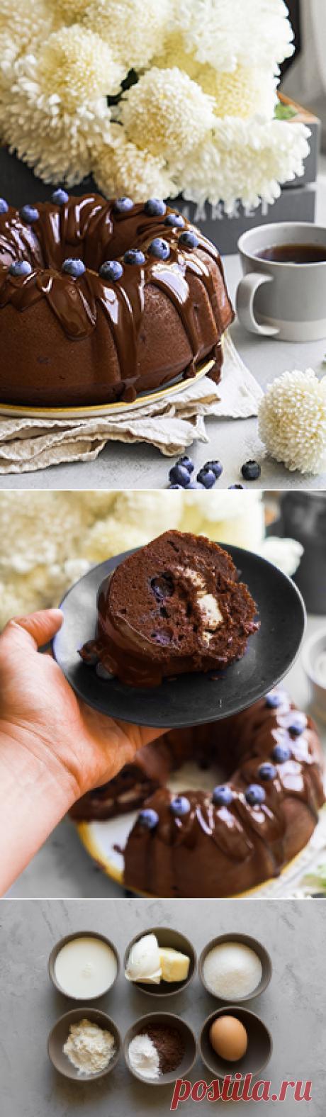 Удивительный шоколадный кекс с ягодами - Andy Chef (Энди Шеф)