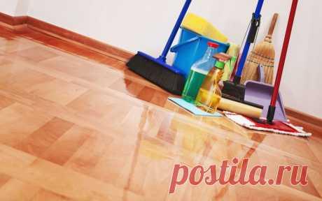 Правило «1-3-6-12» для уборки в доме