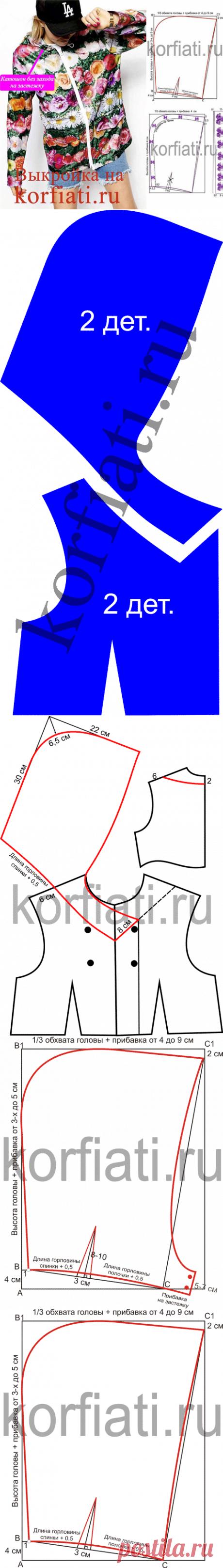 Buscar posts: выкройка капюшона