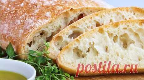 Чиабатта в духовке — Sloosh – кулинарные рецепты