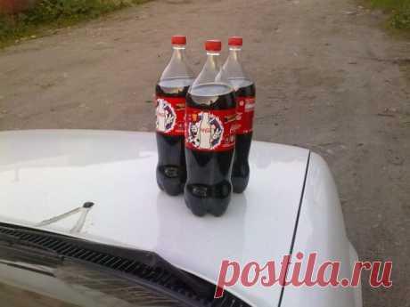 О пользе кока-колы для автомобильного двигателя