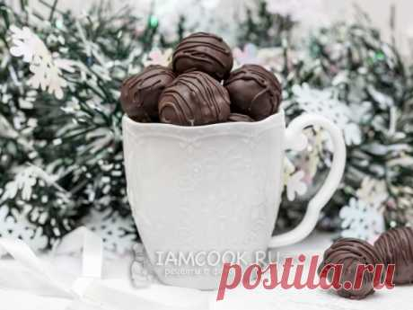 Чернослив в шоколаде с коньяком