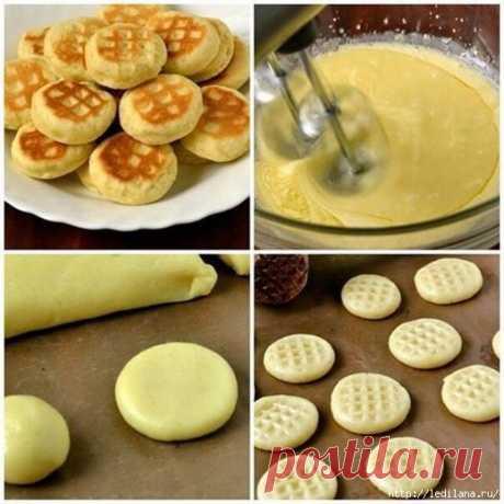 Печенье на сковороде «С пылу жару»