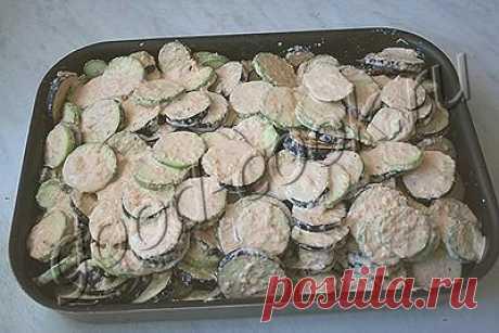 баклажаны, запеченные под сметаной, рецепт приготовления