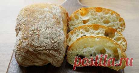 Чтобы реже посещать магазин, я научилась печь чиабатту: получается вкуснее хлеба