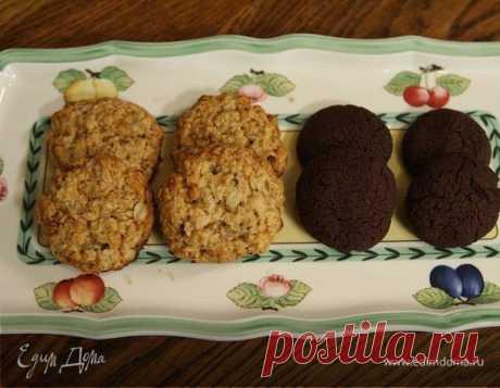 Быстрое шоколадное печенье, пошаговый рецепт на 2636 ккал, фото, ингредиенты - Юлия Высоцкая
