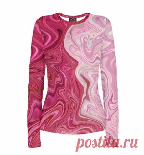 """Одежда с красно-розовым окрасом """"Жидкое стекло"""" Авторский Уникальный дизайн. Магазин Одежды с Дизайнерскими Принтами"""