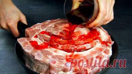 Свиные РЁБРА, аджика и сок! Вы больше не захотите есть другое мясо! ВИДЕО🎬 | WEBSPOON.ru — рецепты кулинарии | Яндекс Дзен