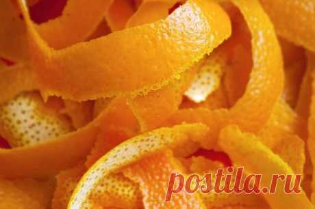Секретная польза апельсиновых корок