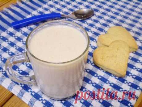 Смузи с овсянкой и бананом - пошаговый рецепт с фото на Повар.ру