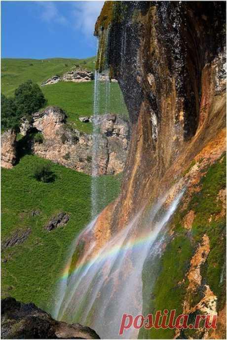 Самый живописный водопад России - koffboy.com