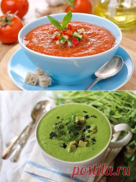 5 most tasty cold soups