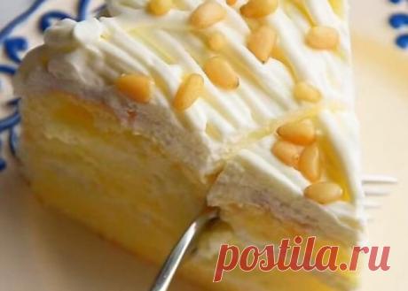 Обалденный тортик «Лимонное облако»