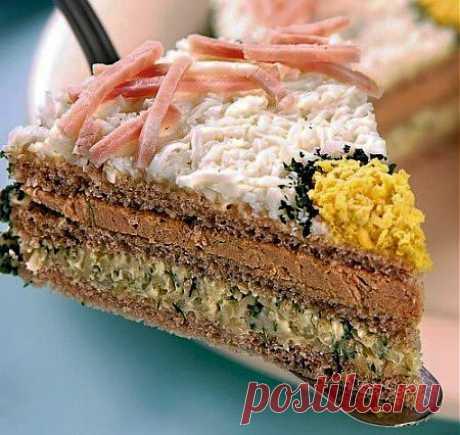 Торт «Бутербродный»