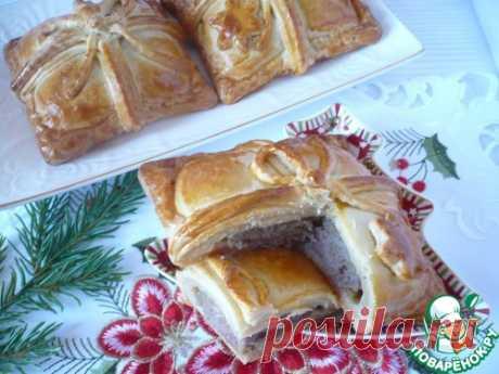 """Пирожки """"Новогоднее послание"""" – кулинарный рецепт"""