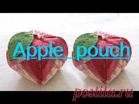 Как сделать мешочек для яблок/ размер 12смx12смx12см