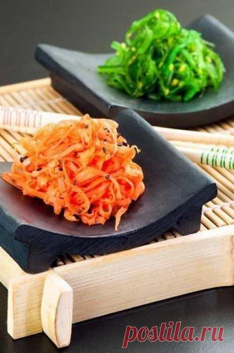 Сочный яркий салат для витаминного обогащения! Деткам и взрослым очень полезно!  МОРКОВНЫЙ САЛАТ С ЗЕЛЕНЫМ ЛУКОМ ПО‑АЗИАТСКИ  Ингредиенты: Показать полностью…