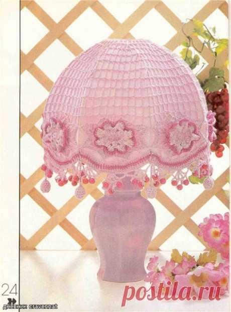 Вязания крючком предметов декора для дома.