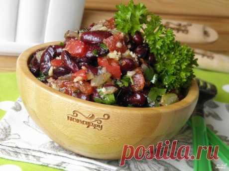 Лобио из красной фасоли (классический рецепт) - пошаговый рецепт с фото на Повар.ру