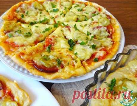 """Экономное тесто для пиццы """"Молния"""" – кулинарный рецепт"""