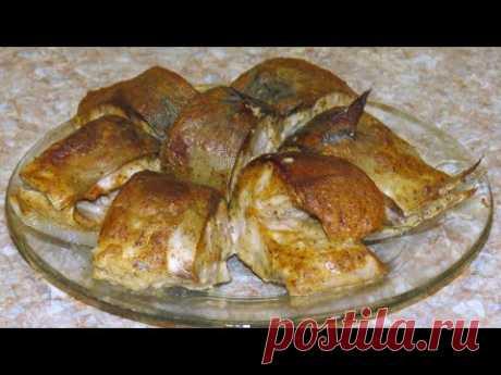 Скумбрия в горчично соевым соусе / Mackerel with soy mustard sauce