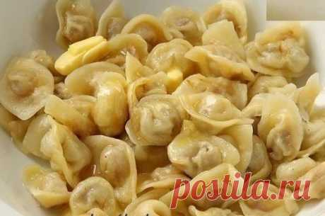 The BEST DOUGH FOR PELMENI (Quickly, simply and tasty)
