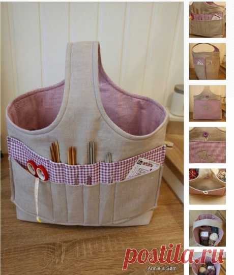Arts and crafts tote