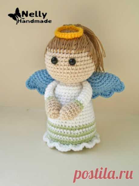 Вязаный ангелочек | 1000 схем амигуруми на русском