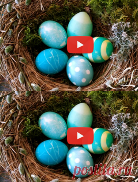 5 простых способов нанести рисунок на пасхальные яйца... Видео мастер-класс!