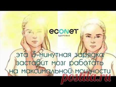 3-х минутное упражнение заставит МОЗГ работать на ПОЛНОЙ мощности - econet.ru
