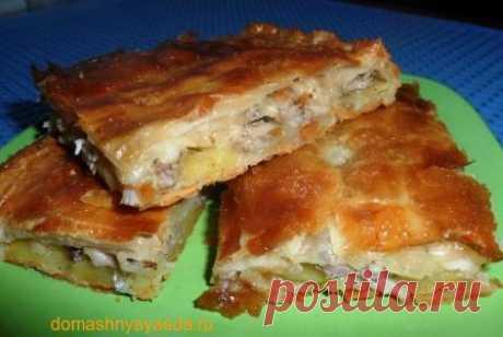 КУбите - пирог с курицей и картофелем