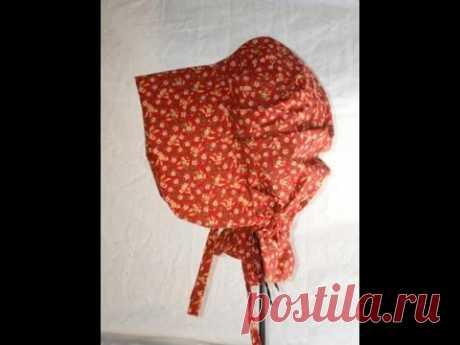 How to Sew a Prairie Bonnet