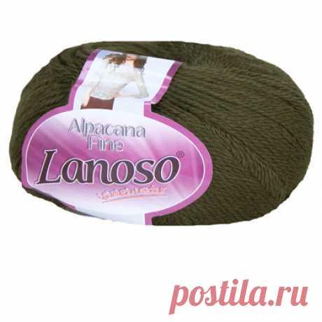 Купить пряжу Lanoso Alpacana Fine 929 в интернет-магазине Lanoso
