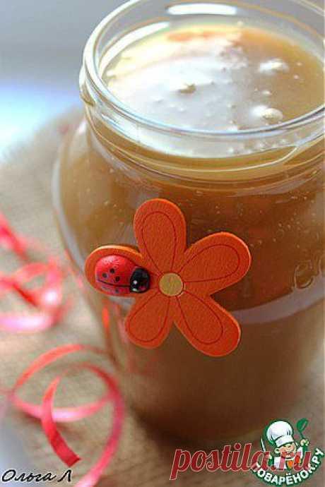 Солёный карамельный соус - кулинарный рецепт