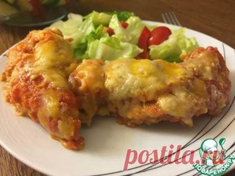Куриные грудки по-итальянски под сыром в духовке