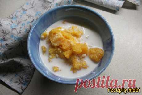 Тыквенная каша с рисом на молоке - пошаговый рецепт приготовления