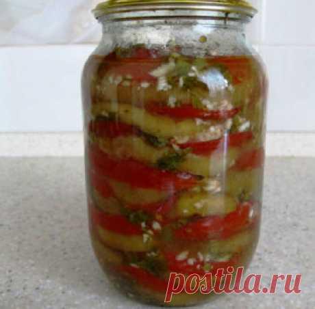 Баклажаны соленые на зиму - Рецепты блюд готовим еду