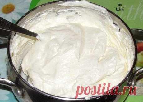 Восхитительный творожный крем для тортиков готовится очень просто! | Четыре вкуса