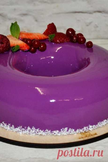 Зеркальная глазурь для торта - пошаговый рецепт - Дом Десертов