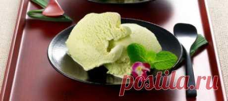 Мороженое васаби - Домашнее мороженое
