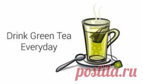 Вот почему вы должны пить зеленый чай каждый день! | Диеты со всего света